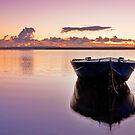 Autumn Sunrise - Redland Bay Qld by Beth  Wode