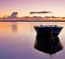 Autumn Sunrise - Redland Bay Qld by Beth  Wode