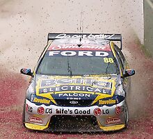 V8 Supercar - Jamie Whincup off the road travel by cherryw