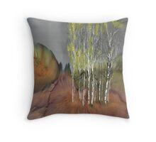 Birch Grove 1 Throw Pillow