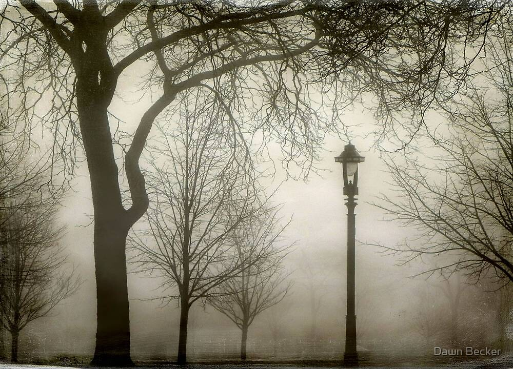Who lurks in the woods...London in Milwaukee!!! ©  by Dawn M. Becker