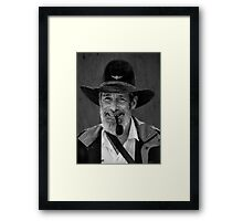 The Drover Framed Print