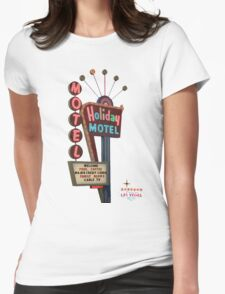 Motel Vegas Womens Fitted T-Shirt