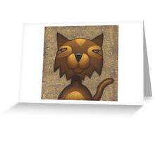 Mister Cool Cat Greeting Card