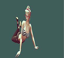 Retro pin up girl by Liz4paris