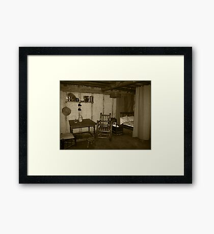 Pilgrim Home Framed Print