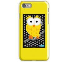 Yellow Owl - medium iPhone Case/Skin