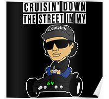 Hip Hop Funny Compton Rap Nintendo 64 Poster