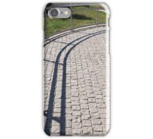Ramp for physically challenged from the granite pavement iPhone Case/Skin
