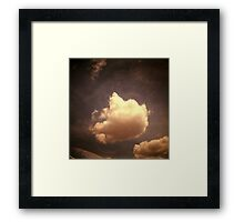 cloud, kampong thom, cambodia Framed Print