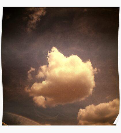 cloud, kampong thom, cambodia Poster