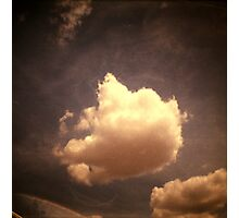 cloud, kampong thom, cambodia Photographic Print