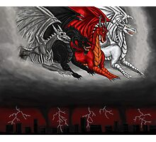 Dragons of the Apocalypse  Photographic Print