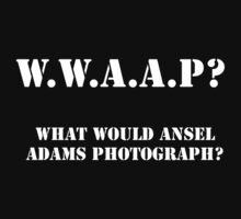 What Would Ansel Adams Photograph? Dark by GPMPhotography