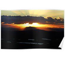 Tamborine Sunset Poster