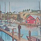 Noyo Harbor 2 by Sally Sargent