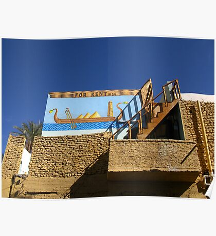 House For Rent - Nubian Village Poster