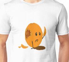 Sad Orange Unisex T-Shirt