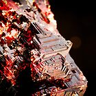 Etched Spessartine Garnet - Brazil by Ryan Martin