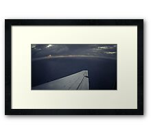Round Earth Framed Print