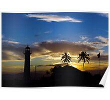 Sunset at Guantanamo Poster