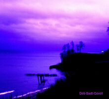 Stormy Silouette by Deb  Badt-Covell