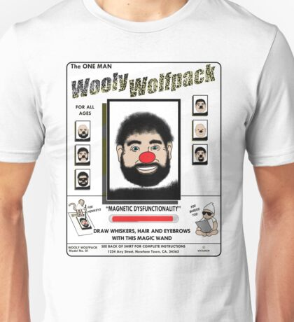 The One Man Wooly Wolfpack Unisex T-Shirt