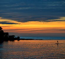 Sunset-Sabangan Beach-Philippines by Loreto Bautista Jr.
