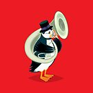 Puffin On A Tuba by Oliver Lake