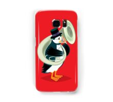 Puffin On A Tuba Samsung Galaxy Case/Skin