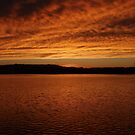Sunset over Lake Burley Griffin by amgmcpherson