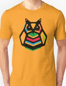 Rainbow Anigami Owl T-Shirt