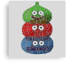 Slime Stack Canvas Print