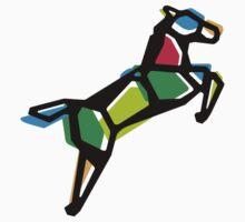 Rainbow Anigami Horse Kids Tee