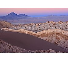 Valley of the Moon, Chile Photographic Print