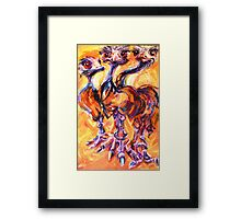 critters Framed Print