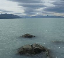 Glacial Fed Lake Pukaki by Matthew Hargreaves