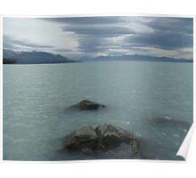 Glacial Fed Lake Pukaki Poster