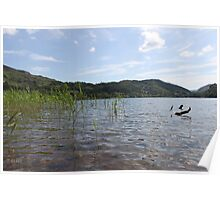 Crystal clear lake Poster