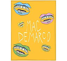 MAC DEMARCO POSTER Photographic Print