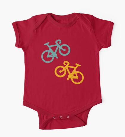Bicycle Stripes One Piece - Short Sleeve