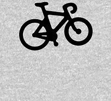 Black and White Bike Unisex T-Shirt
