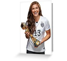 Alex Morgan - World Cup Greeting Card