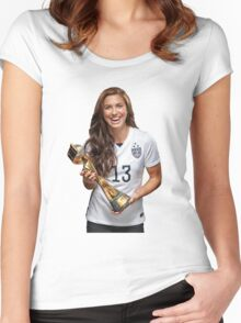 Alex Morgan - World Cup Women's Fitted Scoop T-Shirt