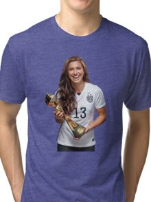 Alex Morgan - World Cup Tri-blend T-Shirt