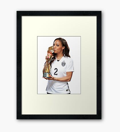 Sydney LeRoux - World Cup Framed Print