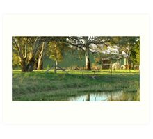 Tranquility - Hume, ACT, Australia. Art Print