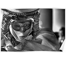 Venice - Carnival Mask  2011....01 - B&W Poster