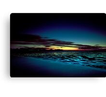 Hervey Bay in the Blue Hour Canvas Print
