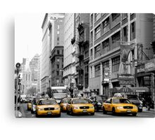 NY Taxis Canvas Print